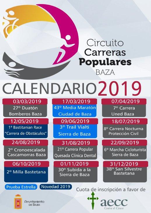 e6c47436 II CIRCUITO DE CARRERAS POPULARES BAZA