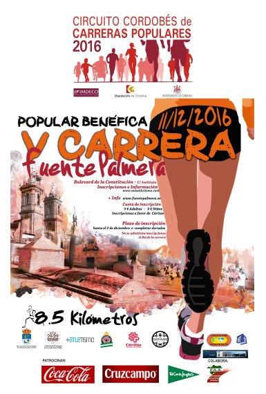 V CARRERA POPULAR BENEFICA FUENTE PALMERA.
